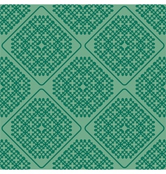 abstract green seamless vector image vector image