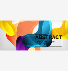 arrow background modern style geometry design vector image