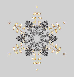Christmas abstract gray background with falling vector
