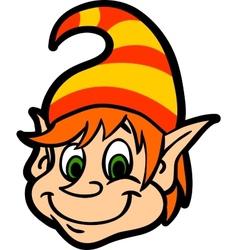 Face Gnome vector image