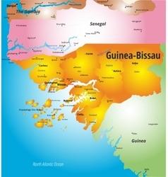 Guinea-Bissau vector image