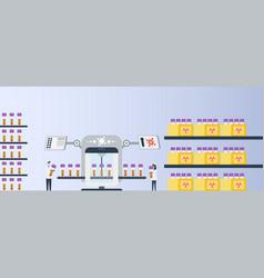 Medical laboratory vector
