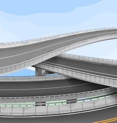 Motorway vector
