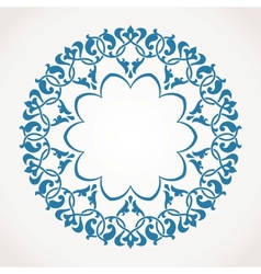 Round Ornament Pattern vector