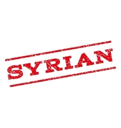 Syrian Watermark Stamp vector