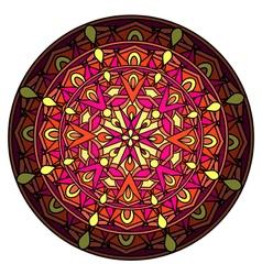 decorative design element with a circular vector image