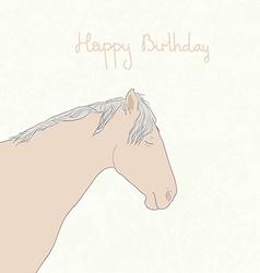 HorseandStars2 vector image