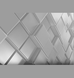 Background with three-dimensional cubes vector