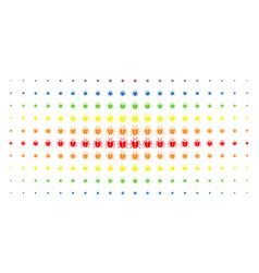 Bug spectral halftone matrix vector