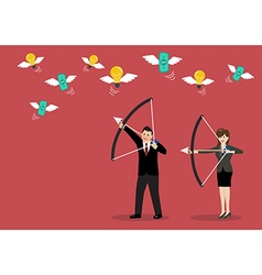 Business trick betray meanness situation concept vector