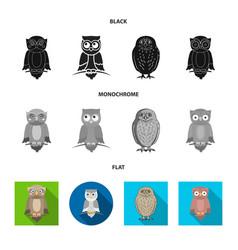 Design animal and tattoo symbol set vector