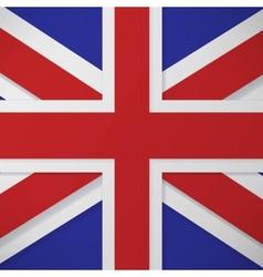 flag london background vector image