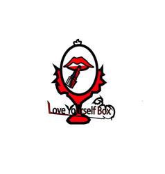 Love-yourself-box vector