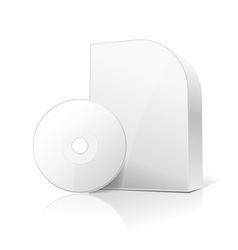 Software box and disc vector