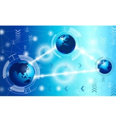 Technology and science vector