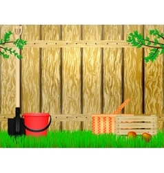 Time to the summer cottage vector image