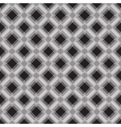 Seamless geometric pattern in gray colors vector image vector image