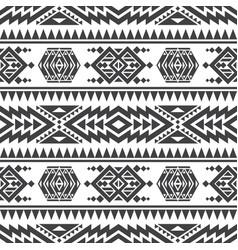 american aztec seamless texture native vector image vector image