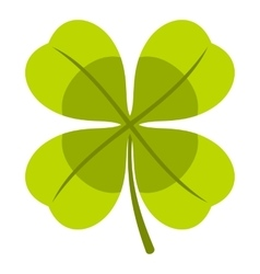 Clover icon flat style vector image