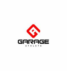 Ga logo vector