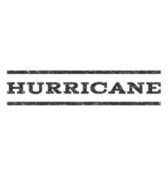 Hurricane Watermark Stamp vector image