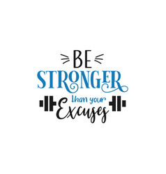 Motivational quote lettering typography vector