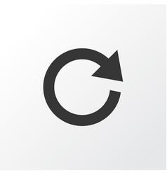 Reload icon symbol premium quality isolated vector