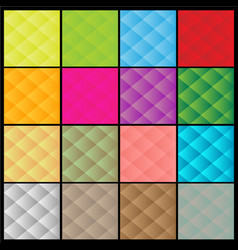 set colorful abstract backgrounds vector image