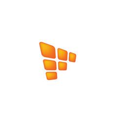 solar logo design inspiration vector image