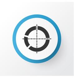 Target icon symbol premium quality isolated vector