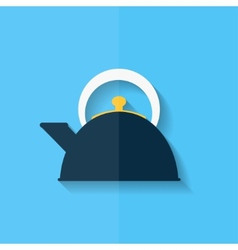 Teapot icon coffee pot symbol Flat design vector image