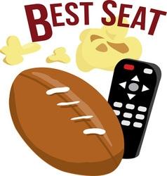 Best Seat vector image