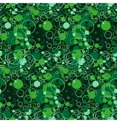 Bright seamless pattern of chaotic circles vector image