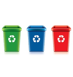 object eco recycling trash vector image