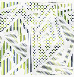 Tech geometric seamless pattern vector