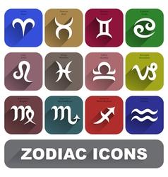 Zodiac Signs Set vector
