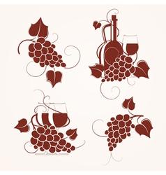 Grape design vector