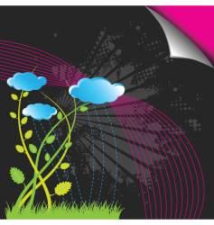 garden design vector image