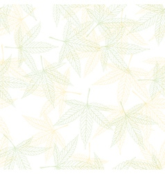 hemp seamless pattern vector image vector image