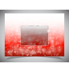 Abstract light winter backgound vector