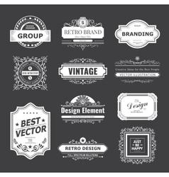 Design logo and monograms vector