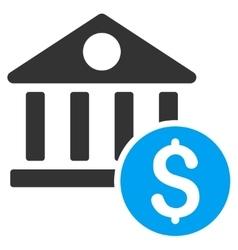 Dollar Bank Icon vector image