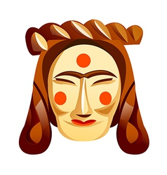 icon mask vector image