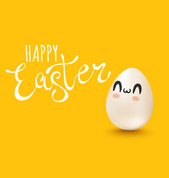 lettering for easter vector image