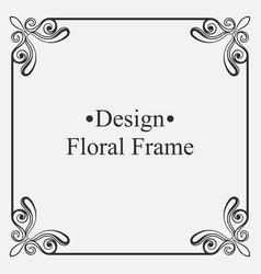 Luxury ornamental frames vector