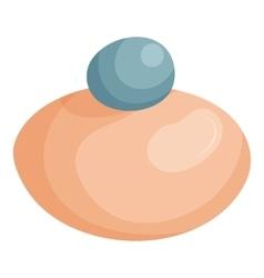 Makeup powder icon cartoon style vector