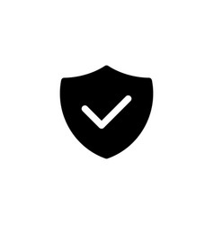no virus icon with glyph style security software vector image