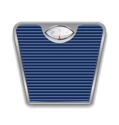 Object weight scales vector