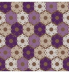 Seamless geometric background Arabic pattern vector
