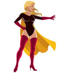 Superheroine power vector